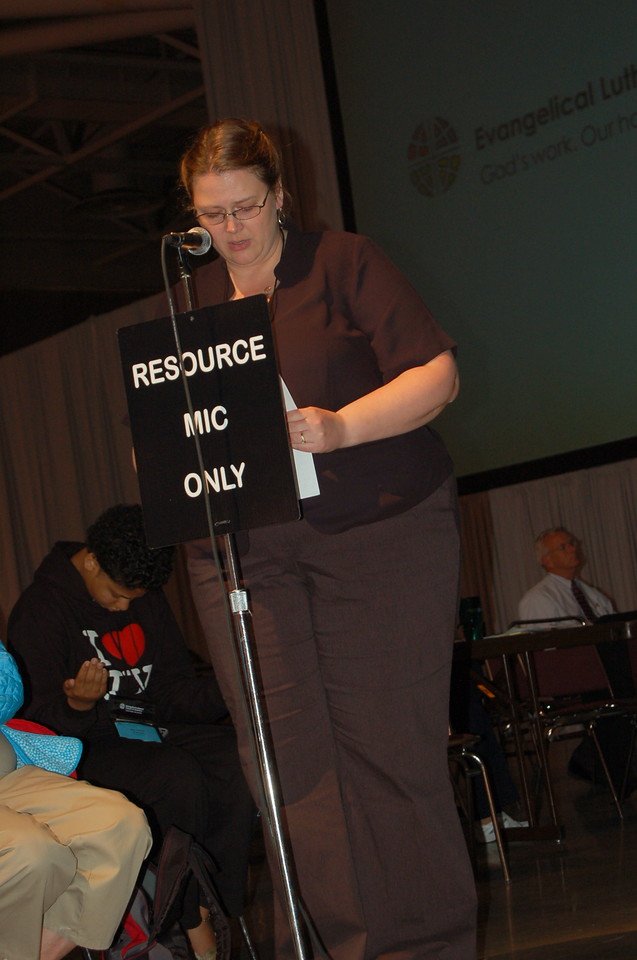 A member of the resource section