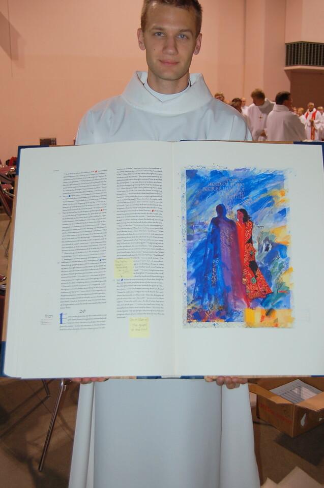 The Saint John's Bible.