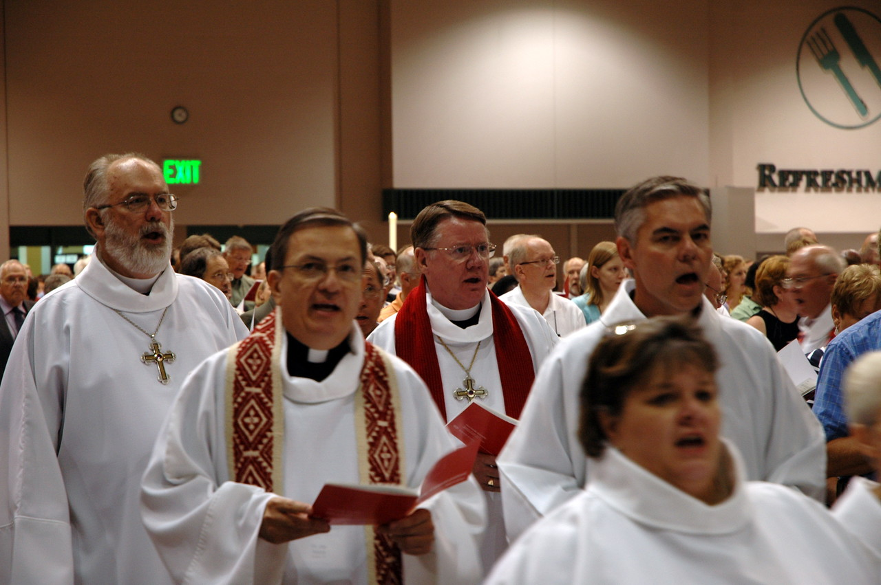 Opening worship procession.
