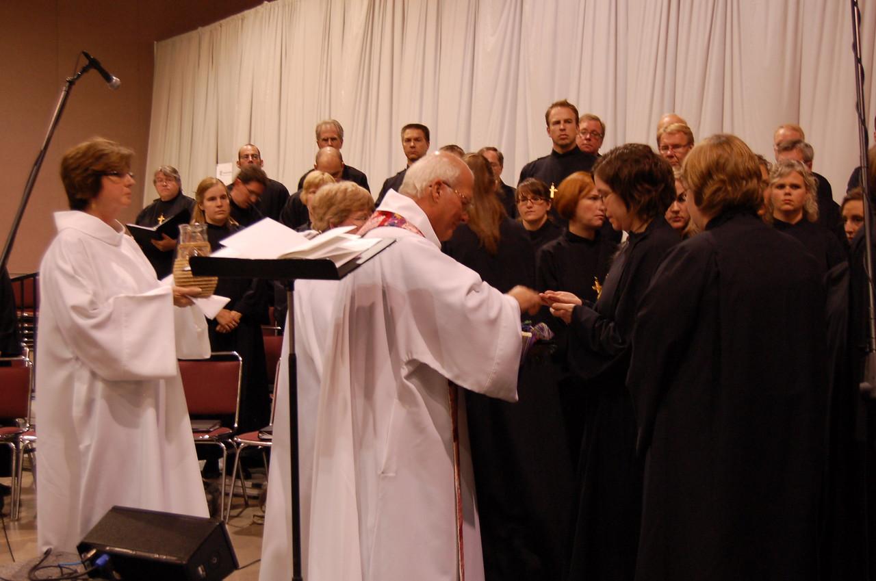 Opening worship.
