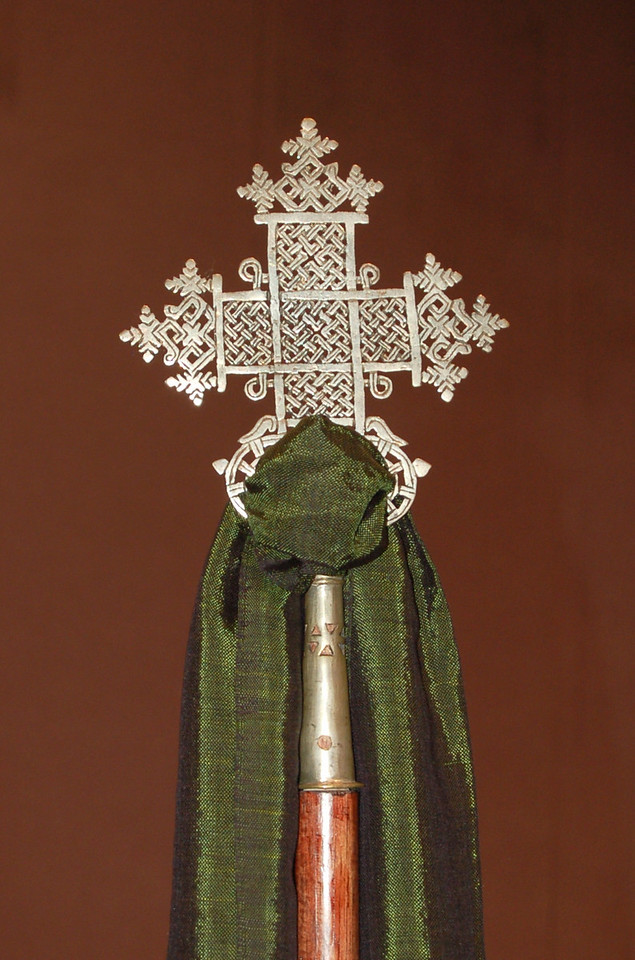 Cross from Ethiopia.