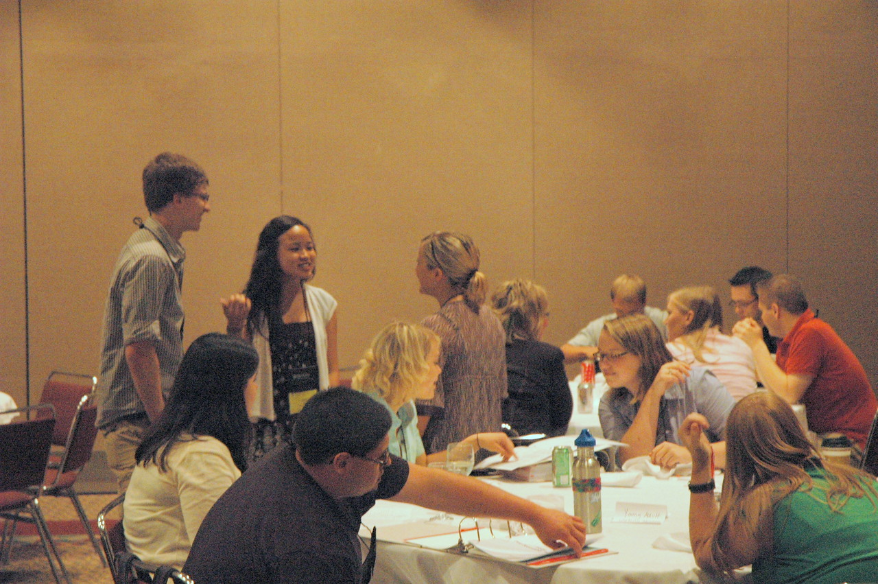 Luncheon for youth and young adult voting members and young rostered leaders of the ELCA.