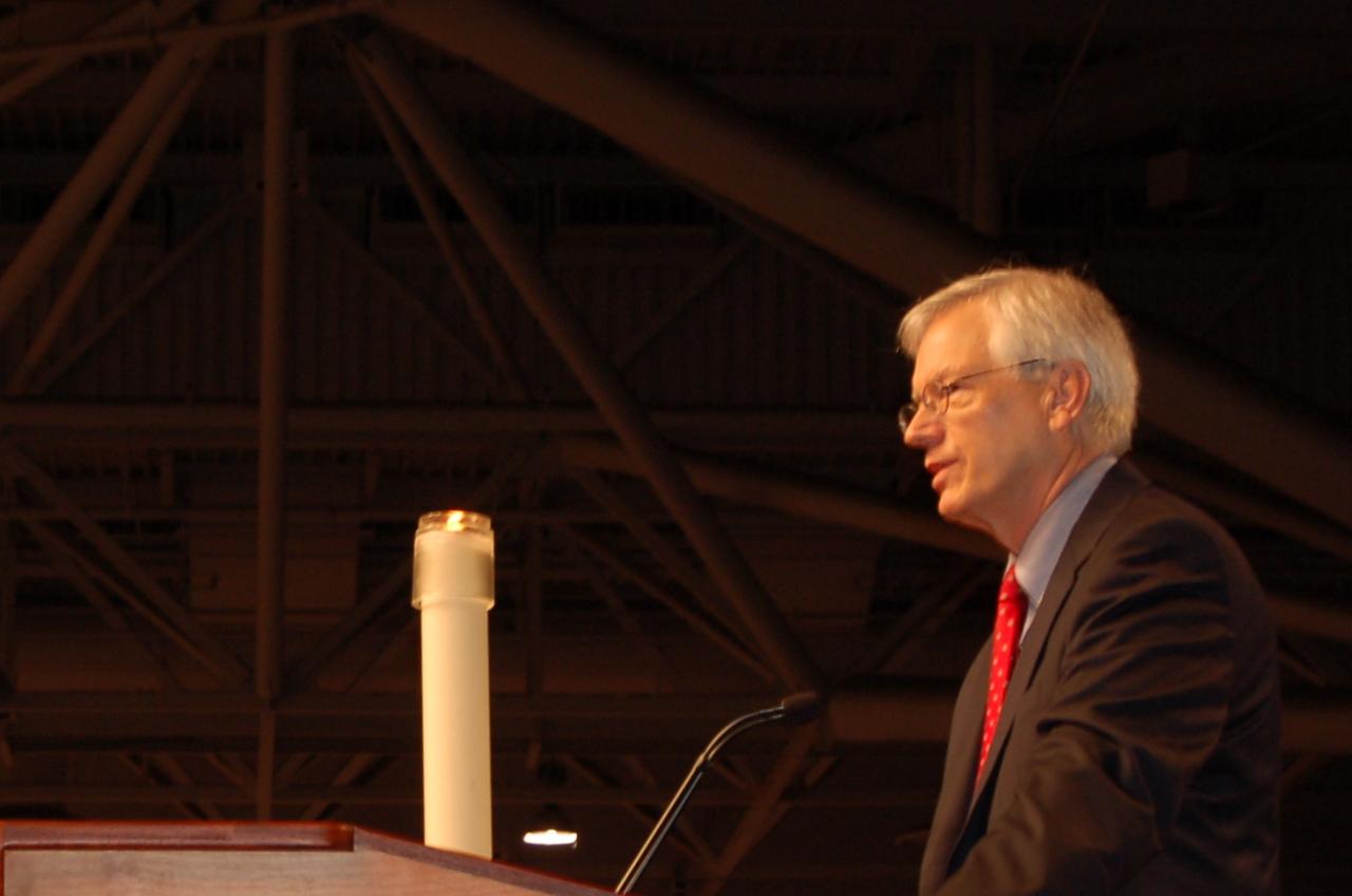 Secretary David D. Swartling.