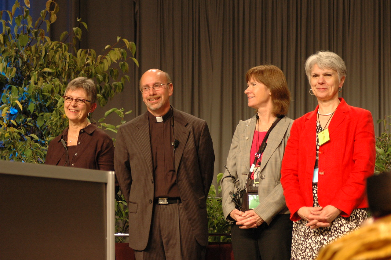 Kristi Bangert, Robert Schafer, MaryBeth Nowak and Myrna Sheie.