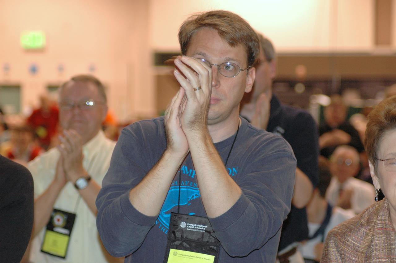 Voting members respond to the Rev. Gerald Kieshnick's remarks