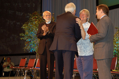 Retiring Lutheran Immigration and Refugree president, Ralston H. Deffenbaugh, Jr.
