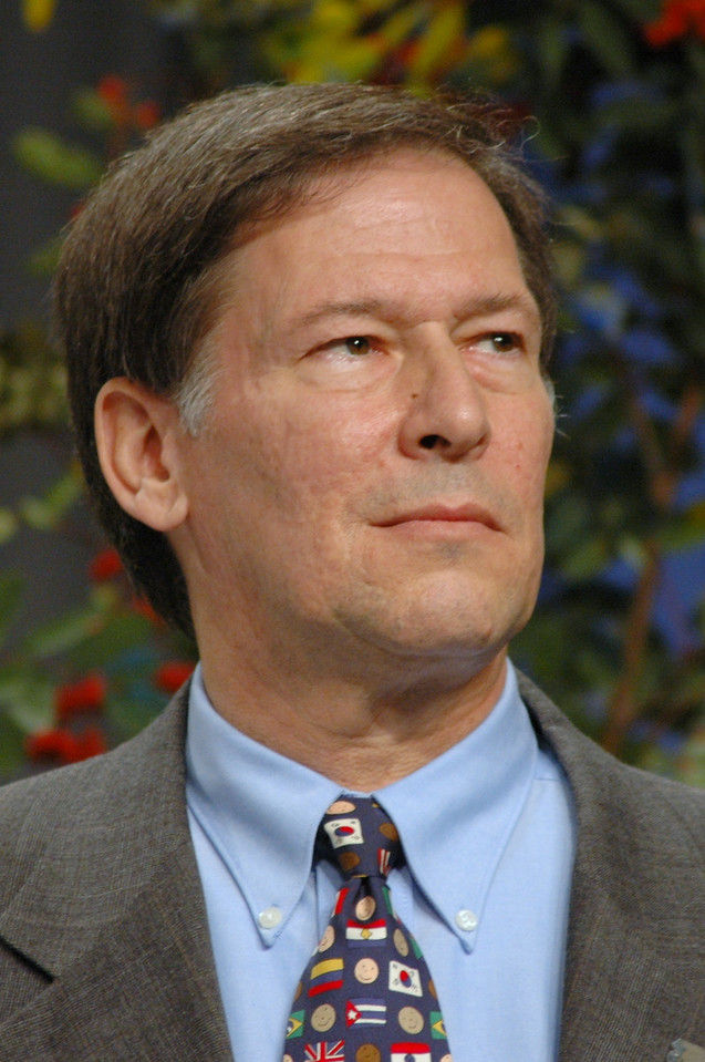 Retiring Lutheran Immigration and Refugree president, Ralston H. Deffenbaugh, Jr.