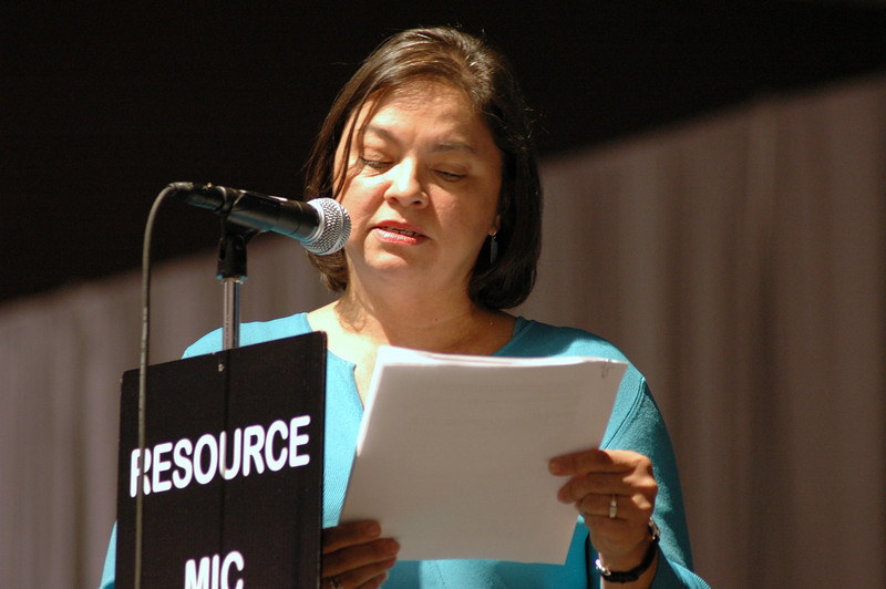 Evelyn Soto, Associate Executive Director/Director for Resourcing Evangelical Outreach and Congregational Mission