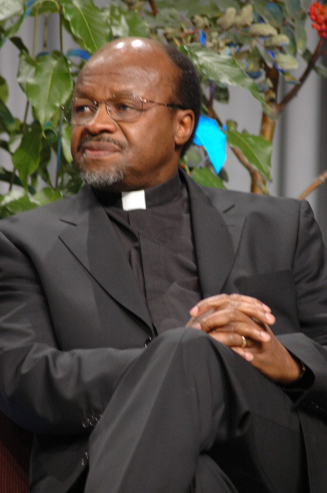 Dr. Noko, secretary of the Lutheran World Federation
