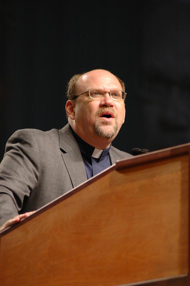 The Rev. Daniel Rift, director for the World Hunger Appeal