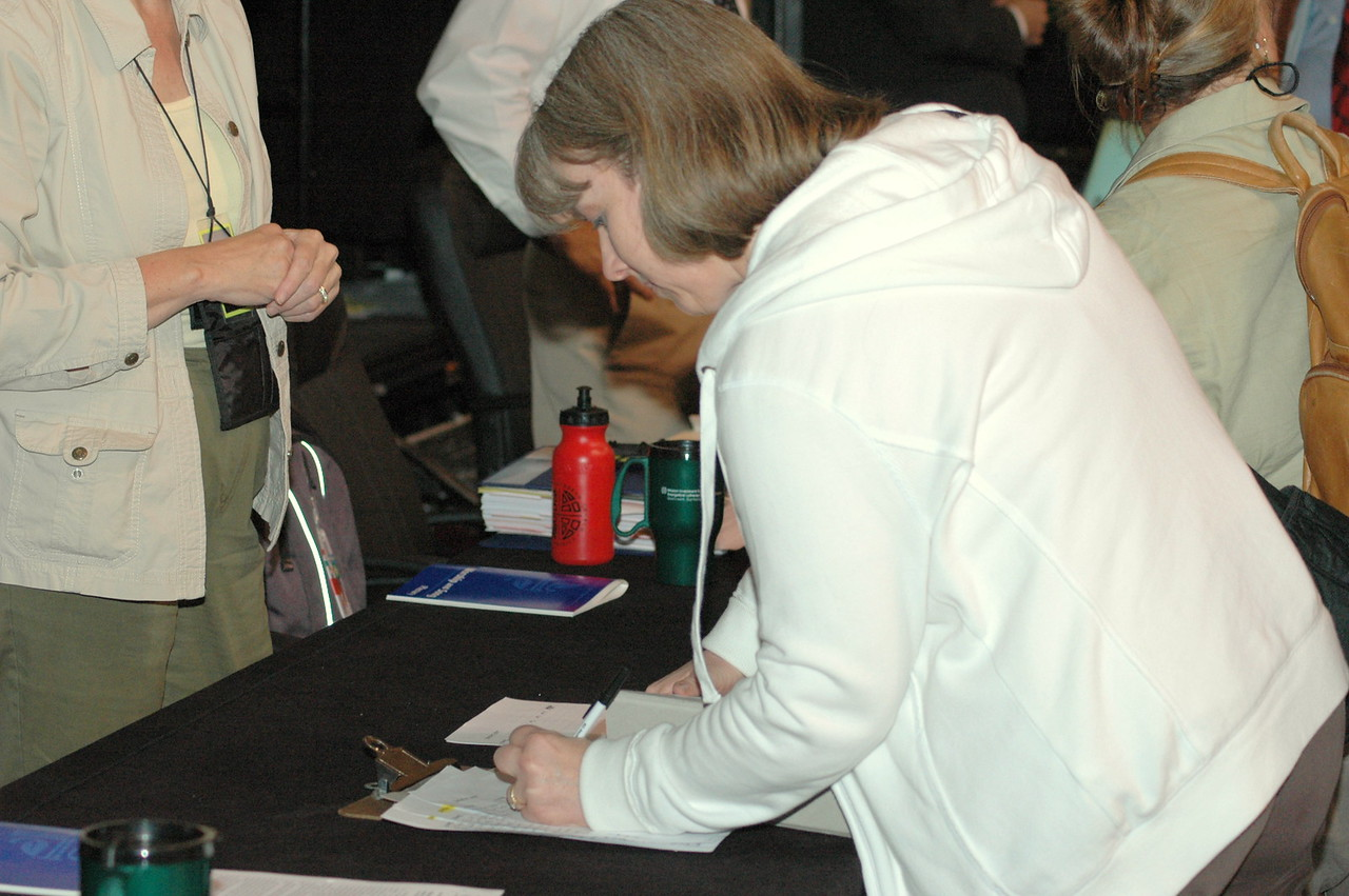 A voting member to the 2009 Churchwide Assembly of the ELCA.