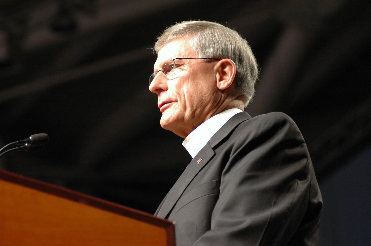 The Rev. Gerald Kieshnick, president of The Lutheran Church-Missouri Synod