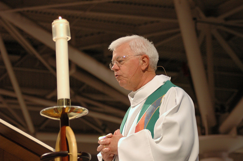 A reading from the Gospel; Bishop Allan Bjornberg, Rocky Mountain Synod