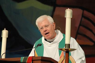 Bishop Allan Bjornberg, Rocky Mountain Synod preached during closing worship.