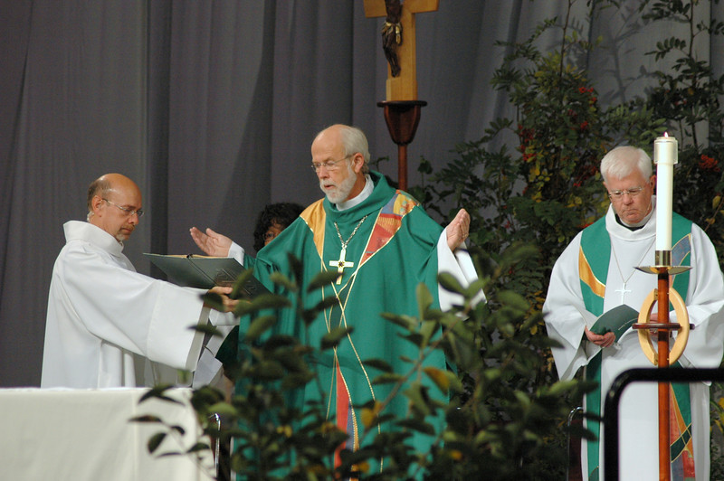 Robert Schafer, Presiding Bishop Mark Hanson and Bishop Allan Bjornberg