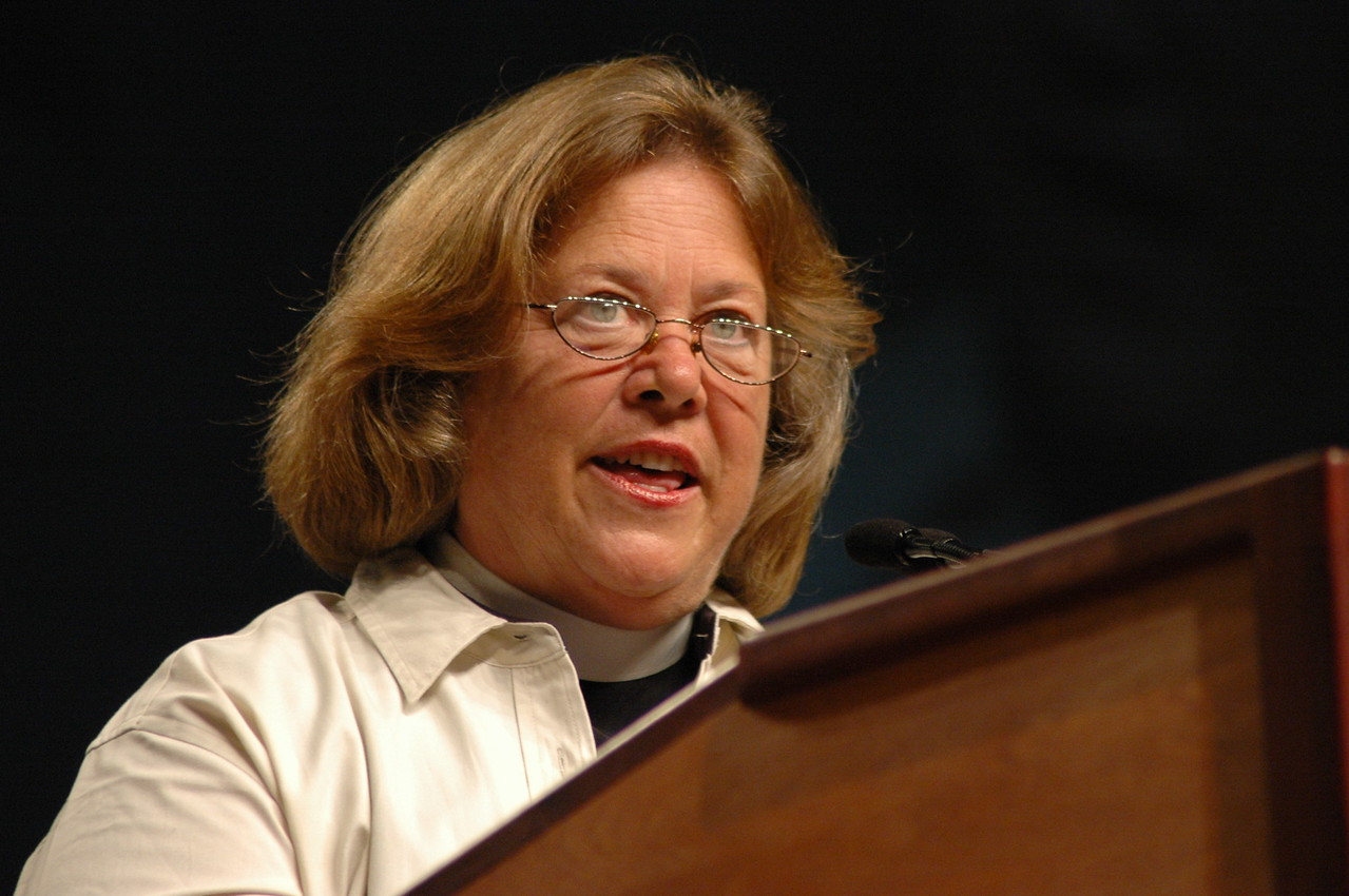 Pastor Susan Langhauser, co-chair of the Committee of Reference and Counsel