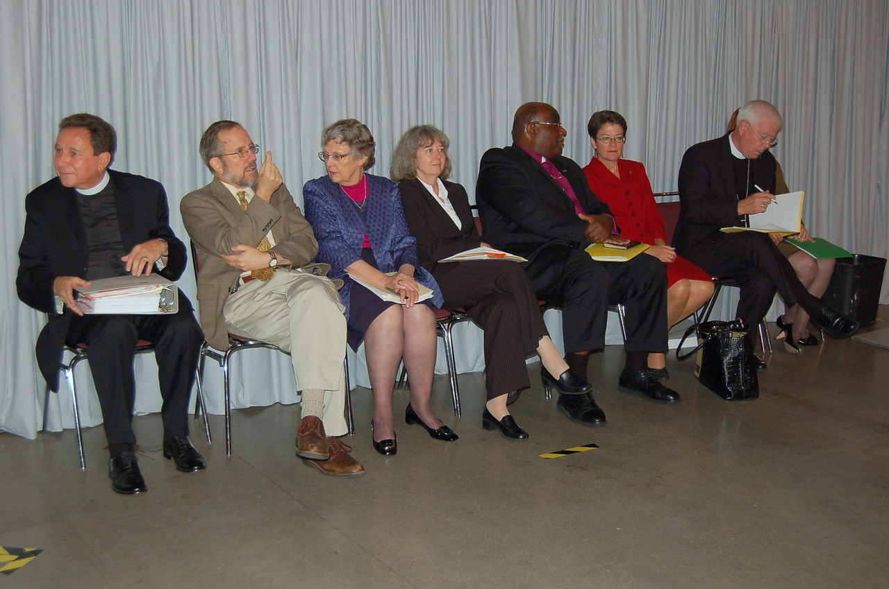 Members of the ELCA-UMC bilateral dialogue