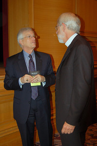 David Swartling and Presiding Bishop Mark Hanson.