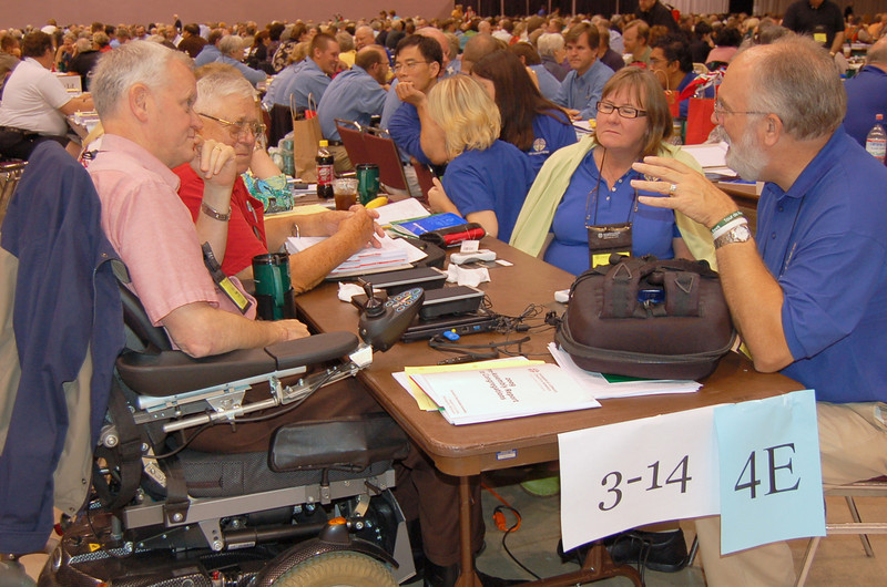 Voting members from the Southwestern Texas Synod.