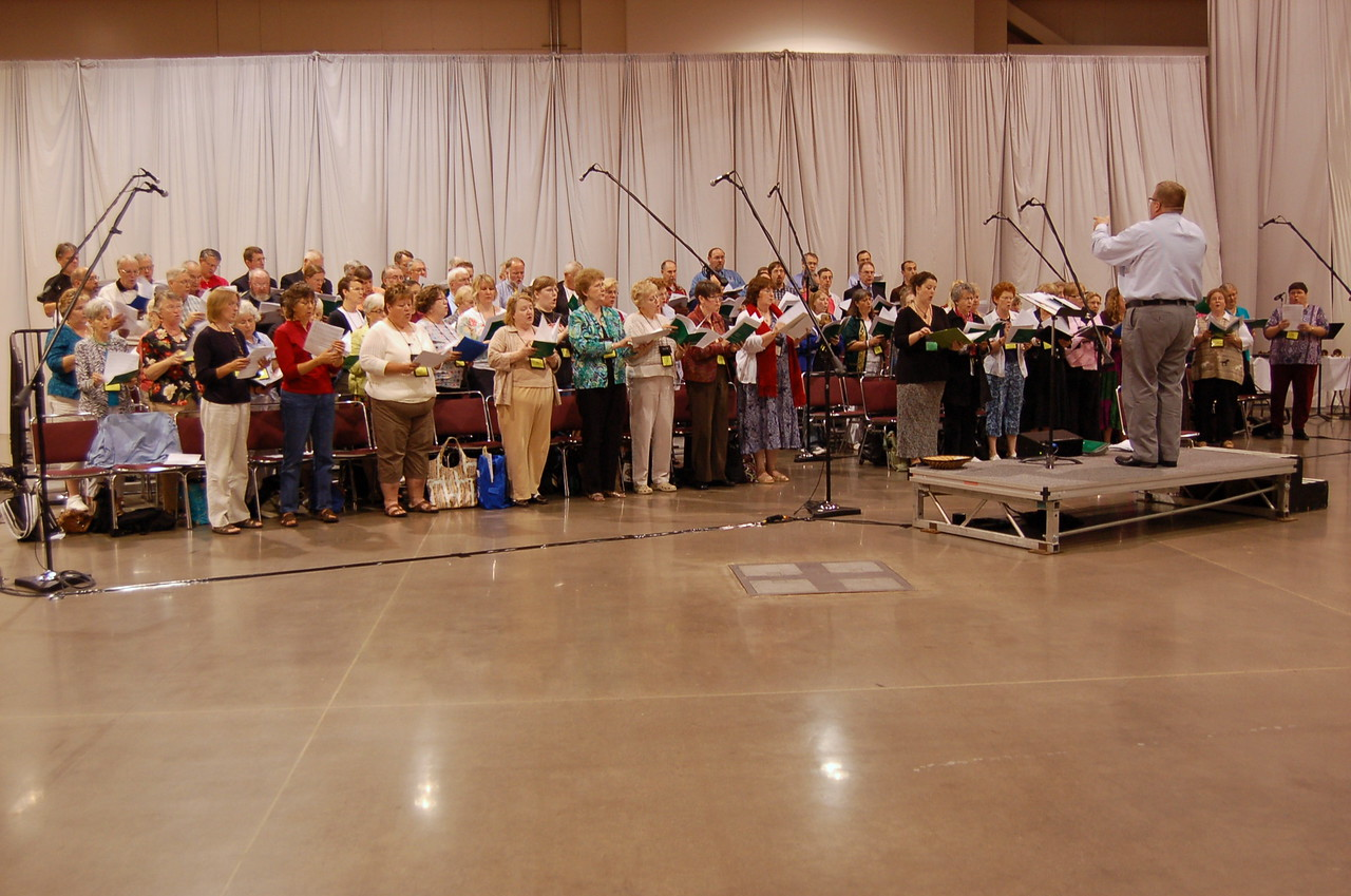 Thursday's choir.