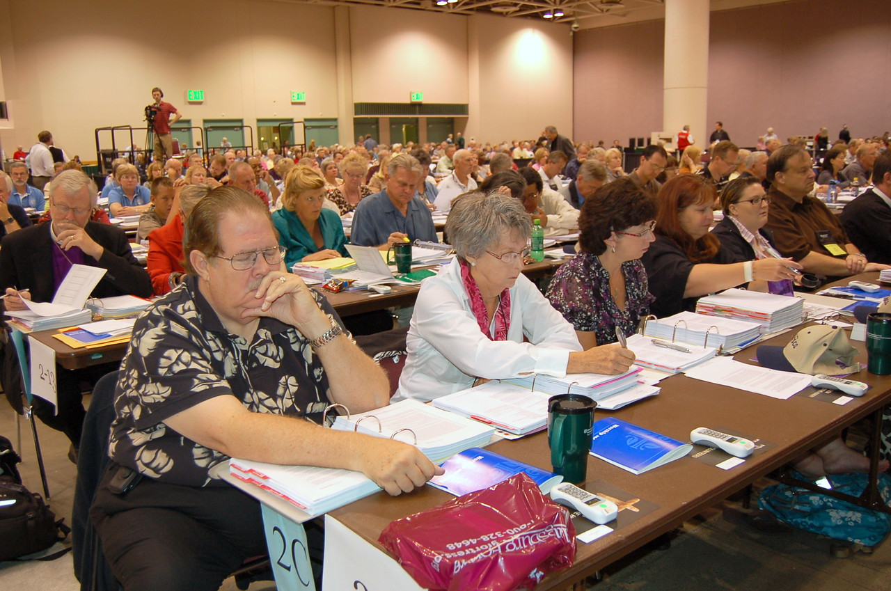 Voting members from the Pacifica Synod.