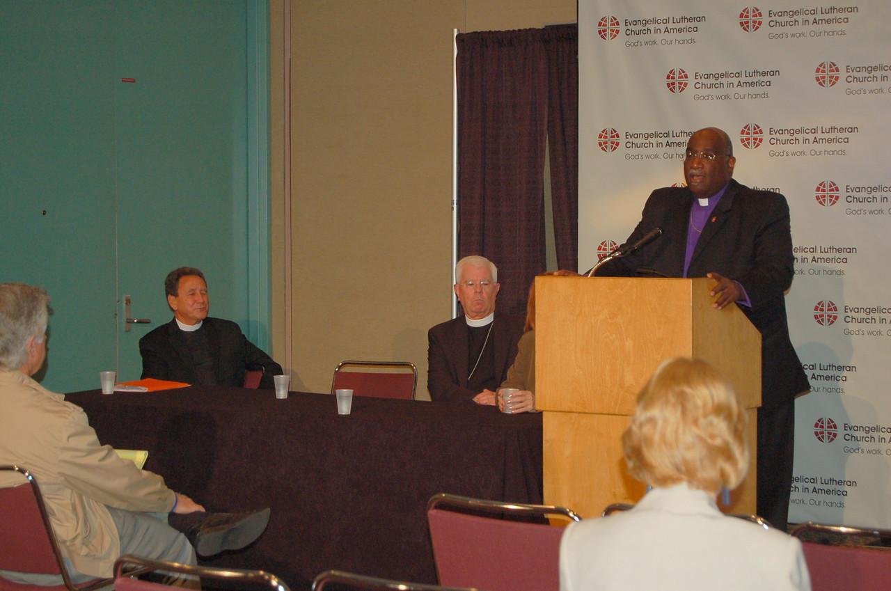 Bishop Gregory Palmer, president, Council of Bishops, United Methodist Church