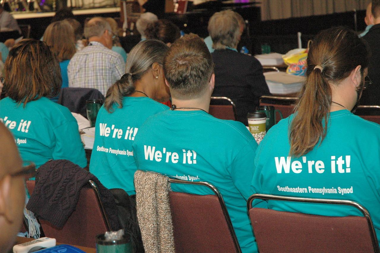 Southeastern Pennsylvania Synod delegation--still it!
