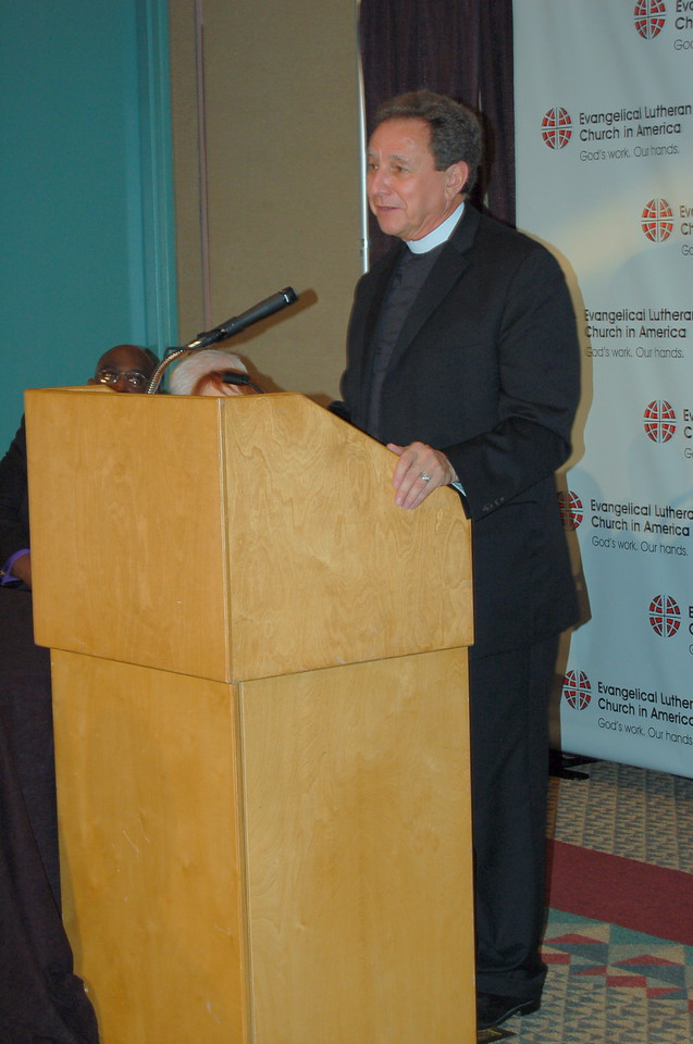 The Rev. Dan McCoid, executive, ELCA Ecumenical and Inter-Religious Relations