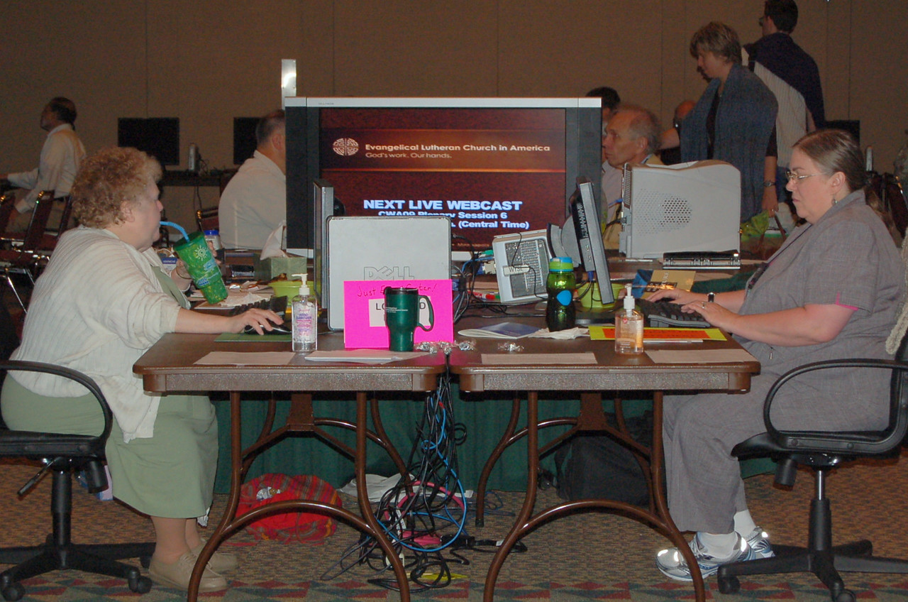 E-mail Center for the 2009 Churchwide Assembly participants.