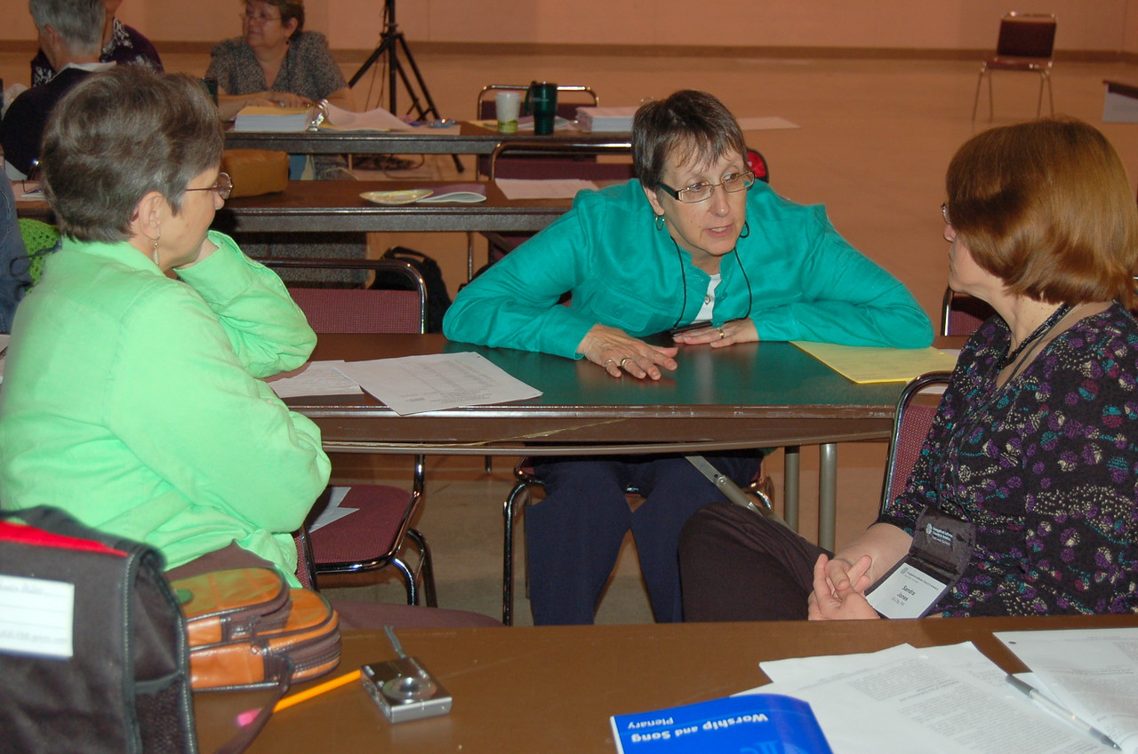 Bishop spouses' discuss their experiences of doing God's work with their hands.