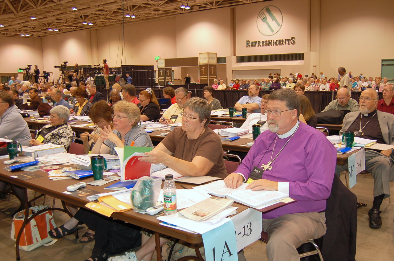 Voting members from the Alaska Synod.