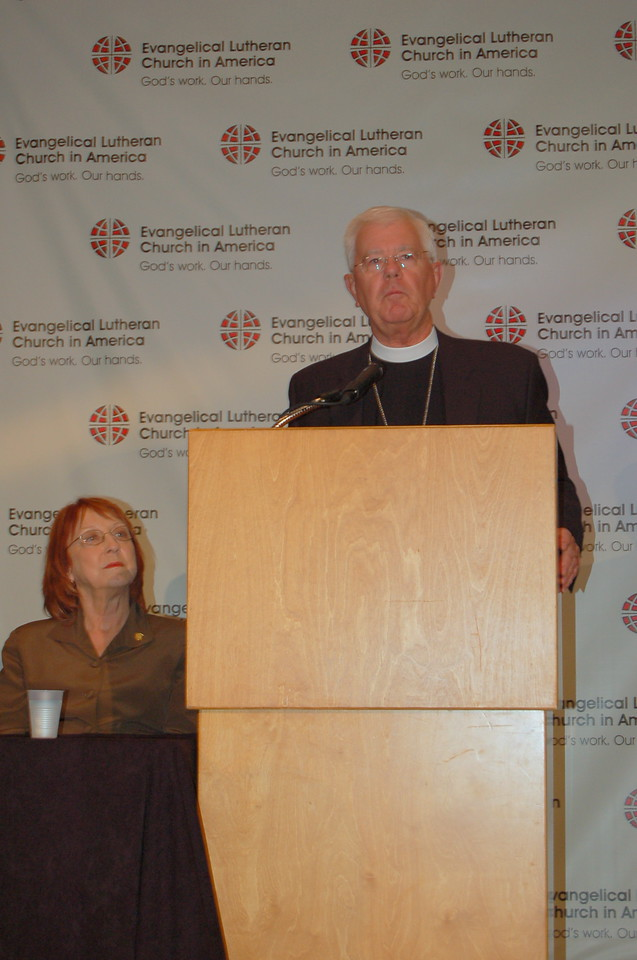 Bishop Allan Bjornberg, Rocky Mountain Synod, co-chaired the UMC-ELCA dialogue and is also chair of the ELCA Conference of Bishops.