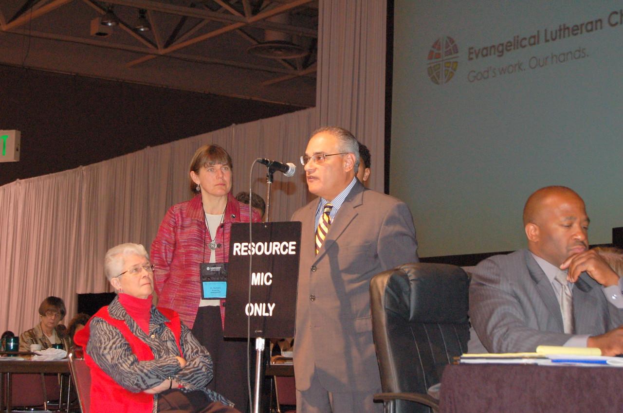 The Rev. Rafael Malpica Padilla, executive director, Global Mission.