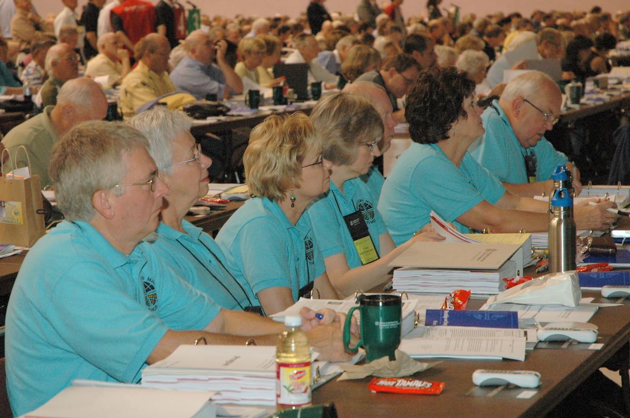 Voting members from Northwestern Minnesota Synod.