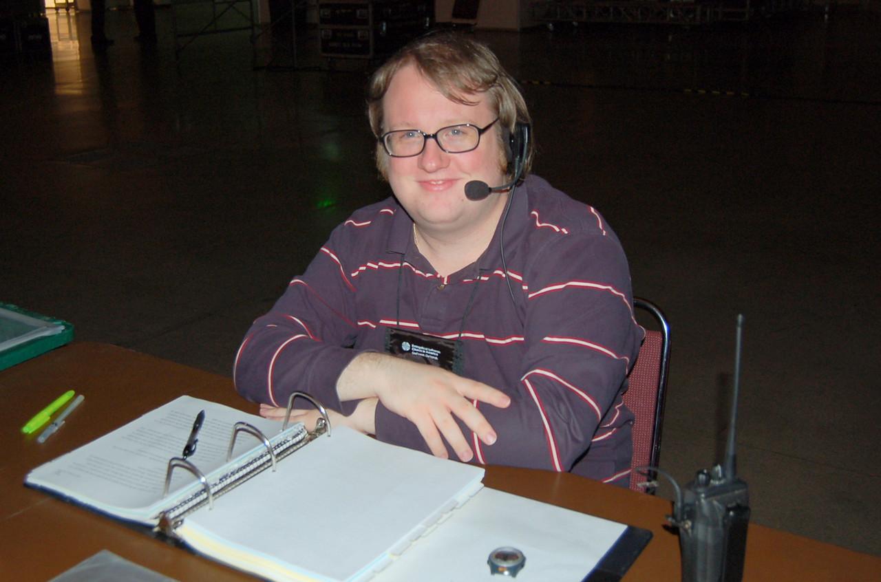 Richard Millet, production assistant, Assembly Communication