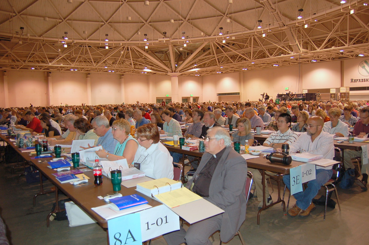 Voting members from the Northwestern Pennsylvania (8A) and Northeastern Minnesota (3E) synods.