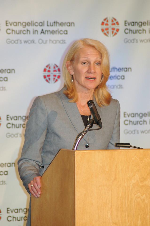 Cynthia Halverson, president, ELCA Foundation
