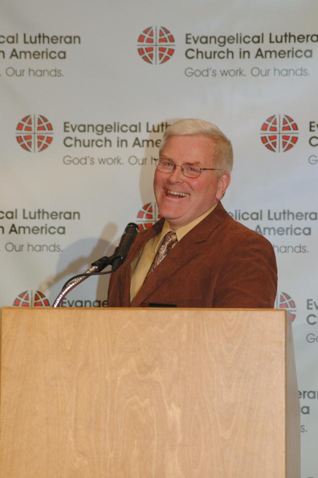 John Brooks, ELCA News Service