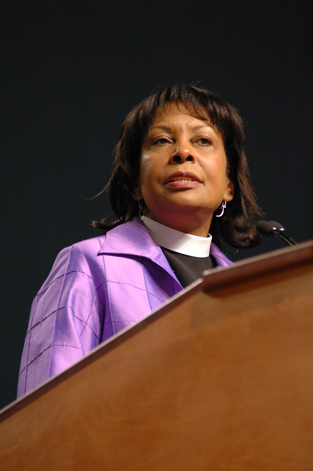 The Rev. Wyvetta Bullock, Executive for Administration reports on the 2010 Budget.