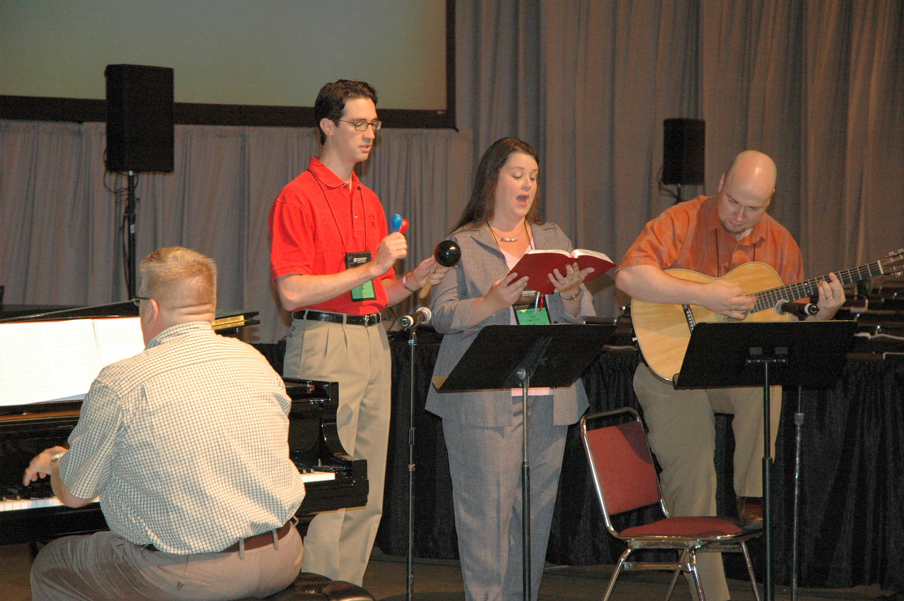 Musicians at plenary session two.