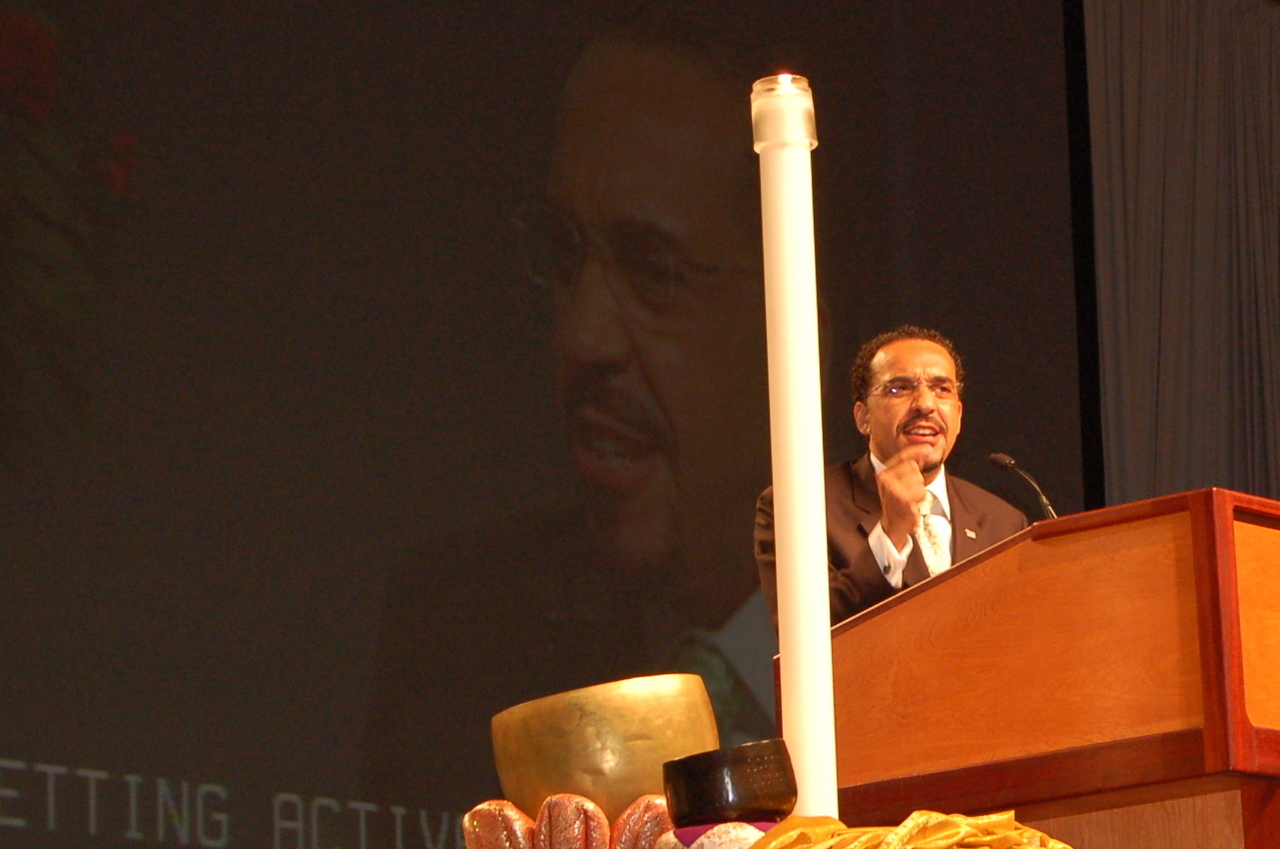 Pr. John Nunes, president, Lutheran World Relief