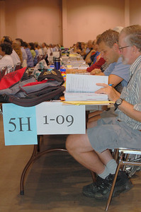 Voting members from the Northwest Synod of Wisconsin.