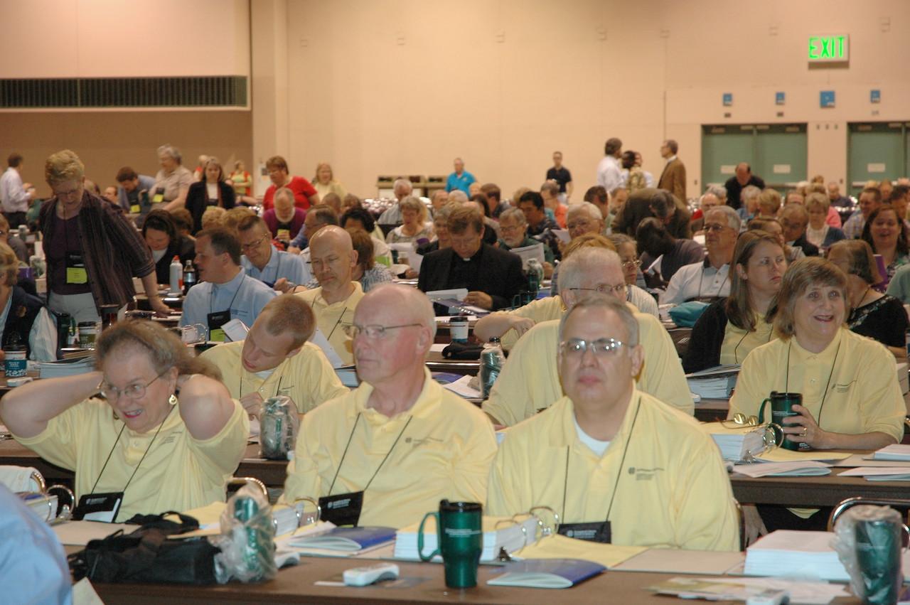 Voting members from region 5D