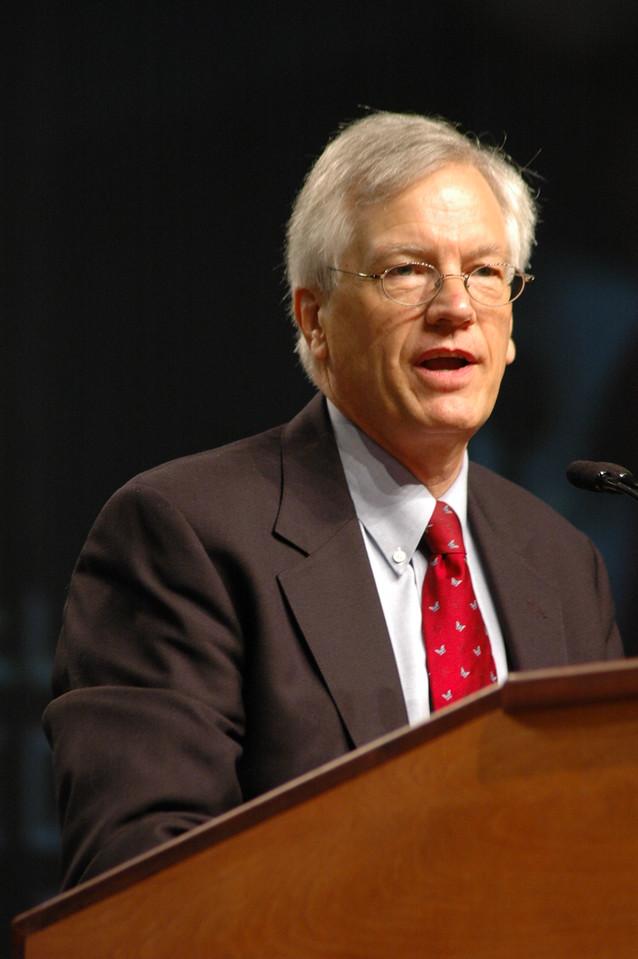 Secretary David D. Swartling during plenary session four.