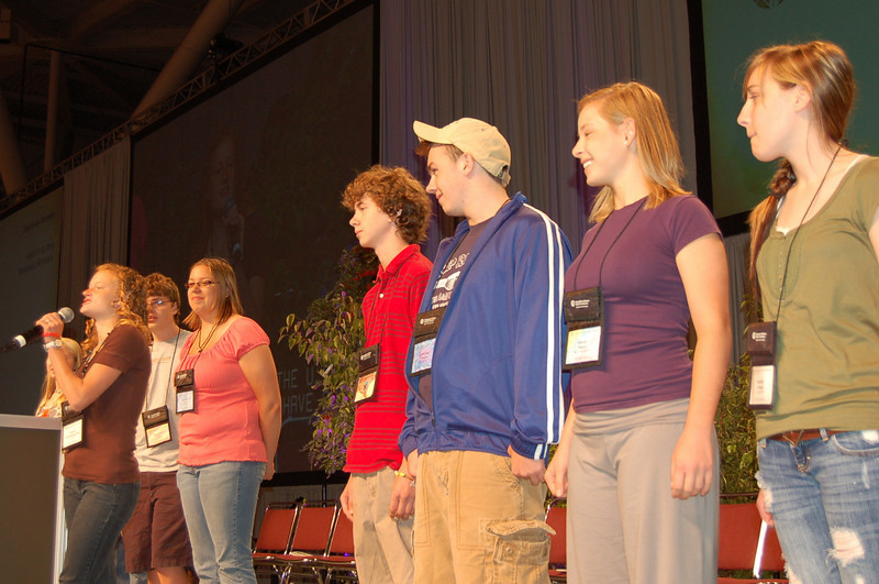 Youth Convocation participants.