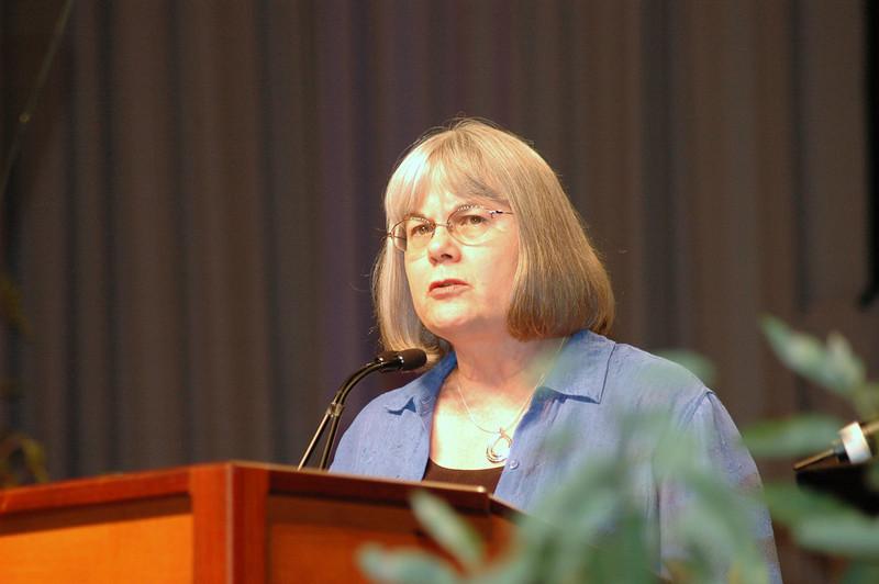 The Rev. Rebecca Larson, executive director, Church in Society