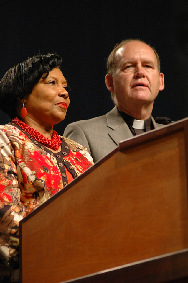 Report of the Memorials Committee; Pastor John Richter and Dr. Phyllis Wallace, co-chairs of the committe.