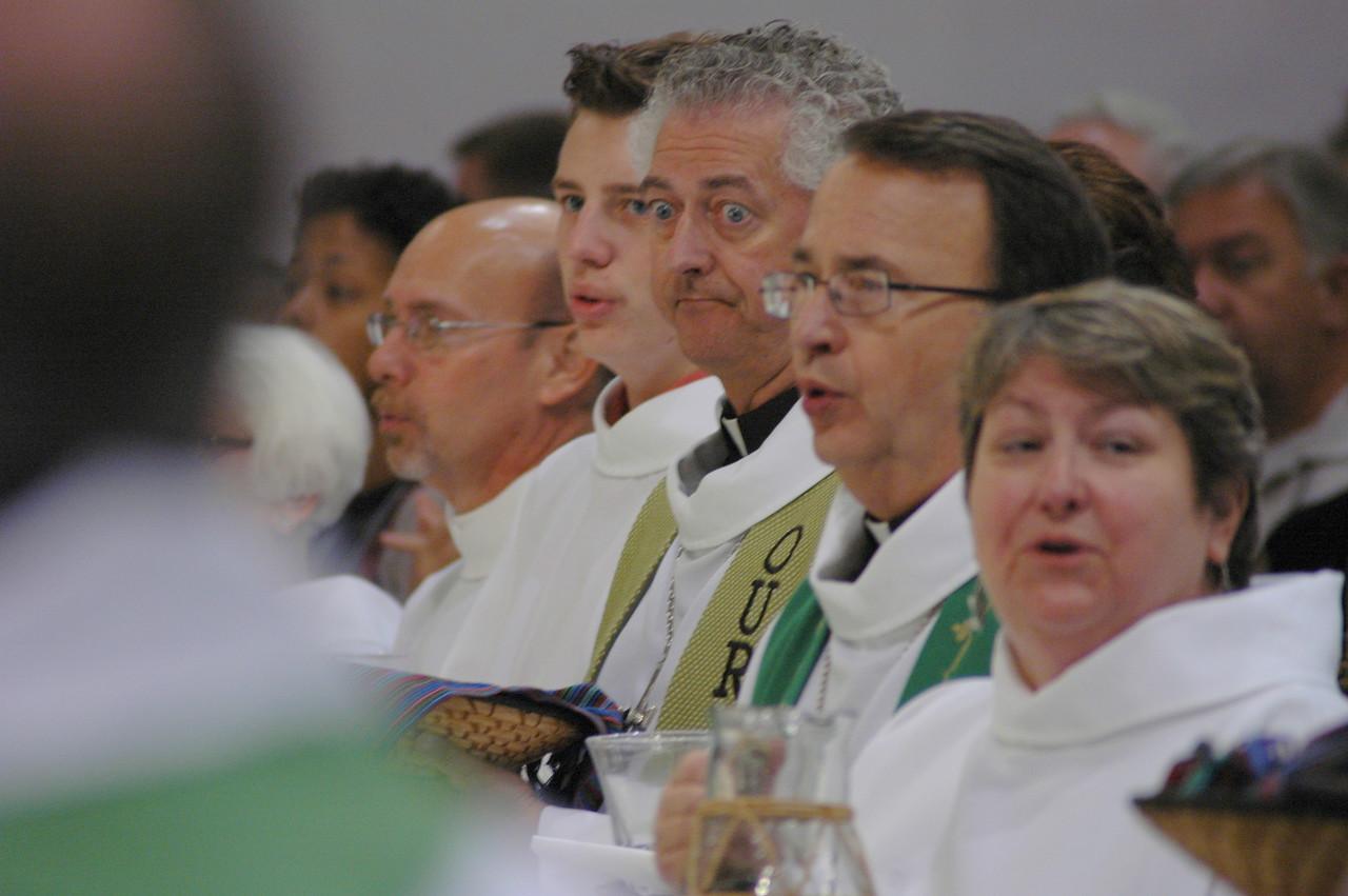 Preparing to celebrate the sacrament of Holy Communion