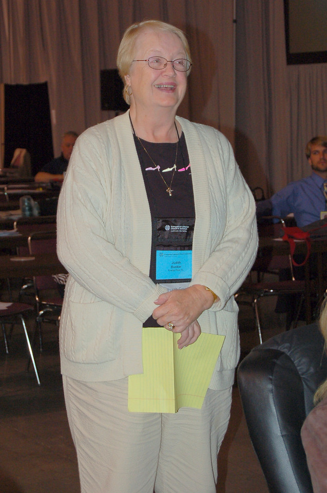 Judith Bunker, Church Council Member