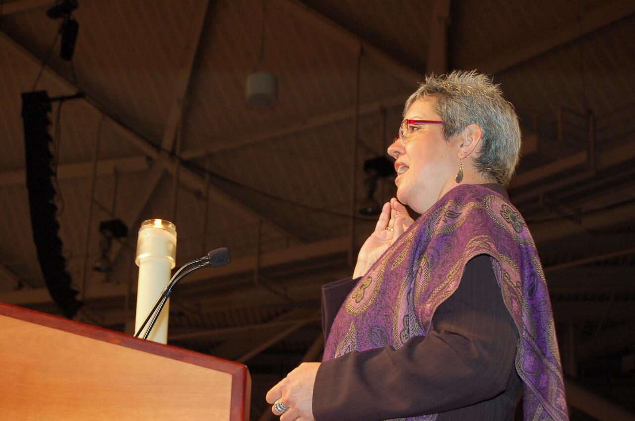 The Rev. Susan Johnson, presiding bishop, Evangelical Lutheran Church in Canada.
